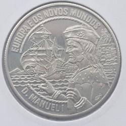 Moneta > 2½ECU, 1994 - Portugalia  (Europa i Nowy Świat - Manuel I) - reverse