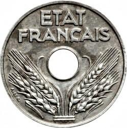 Münze > 20Centime, 1944 - Frankreich  (Eisen / magnetisch) - obverse
