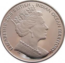 Moneta > 2svarai, 2018 - Indijos Vandenyno Britų Sritis  (Krabas) - obverse