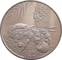 Moneta > 2svarai, 2018 - Indijos Vandenyno Britų Sritis  (Krabas) - reverse