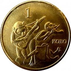 Монета > 1кобо, 2003 - Нигерия  - reverse