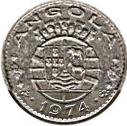 Монета > 50сентаво, 1974 - Ангола  - obverse