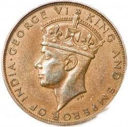 Mynt > 1cent, 1941 - Hong Kong  - obverse
