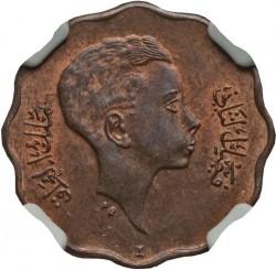 Coin > 4fils, 1943 - Iraq  - obverse