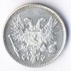 Moneta > 50penniä, 1917 - Finlandia  (Eagle w/o crown) - obverse
