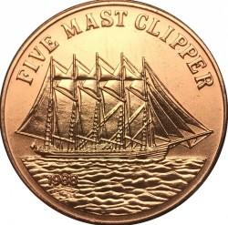 Монета > 10кипов, 1988 - Лаос  (Медь /коричневый цвет/) - reverse