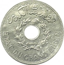 Кованица > 1пиастр, 1940 - Либан  - obverse