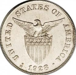 Monēta > 20sentavo, 1928 - Filipīnas  - obverse