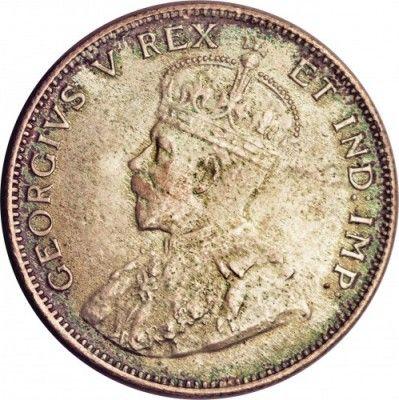 50 Cent 1920 Britisch Ostafrika Münzen Wert Ucoinnet