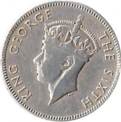Coin > 25cents, 1952 - British Honduras  - obverse