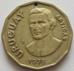 سکه > 1پزوجدید, 1976-1978 - اروگوئه  - reverse