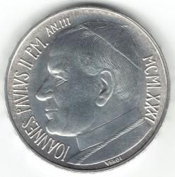Minca > 500lire, 1981 - Vatikán  - obverse