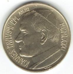 Minca > 20lire, 1981 - Vatikán  - obverse
