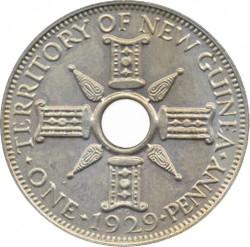 Монета > 1пени, 1929 - Нова Гвинея  - reverse