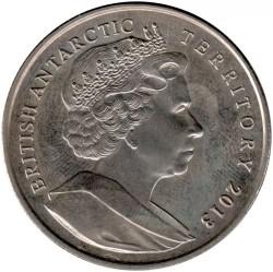 Монета > 2фунта, 2013 - Британська антарктична територія  (Земля Королеви Єлизавети) - obverse