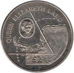 Монета > 2фунта, 2013 - Британська антарктична територія  (Земля Королеви Єлизавети) - reverse
