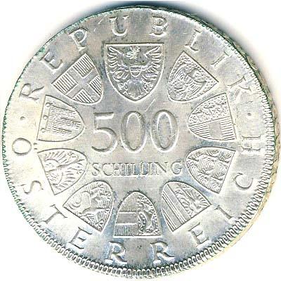 500 Schilling 1980 Steyr österreich Münzen Wert Ucoinnet