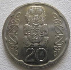 Монета > 20цента, 2006-2019 - Нова Зеландия  - reverse