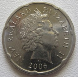 Монета > 20центов, 2006-2019 - Новая Зеландия  - reverse