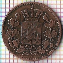 Кованица > 1фенинг, 1858-1871 - Bavaria  - obverse