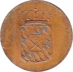 Monedă > 2pfenigi, 1830-1835 - Bavaria  - obverse