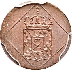 Кованица > 1хелер, 1806-1829 - Bavaria  - obverse