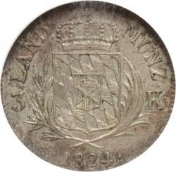 Кованица > 3крајцера, 1807-1825 - Bavaria  - reverse