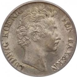 Кованица > 3крајцера, 1827-1830 - Bavaria  - obverse