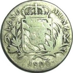 Munt > 6kreuzer, 1806-1825 - Bavaria  - reverse