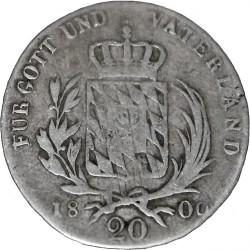 Кованица > 20крајцера, 1806-1825 - Bavaria  - reverse