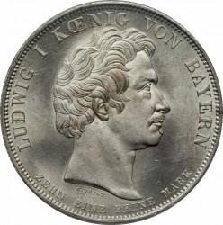 硬币 > 1塔勒, 1830 - 巴伐利亚  (Loyalty of Bavarians to Royal Family) - obverse