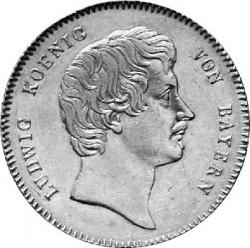 Кованица > 1kronenthaler, 1826-1829 - Bavaria  - obverse