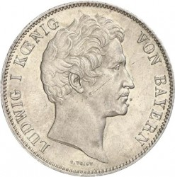 Monedă > 2taleri, 1839-1841 - Bavaria  - obverse