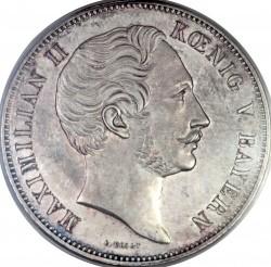 Монета > 2талера, 1848 - Бавария  (Новая Конституция) - obverse