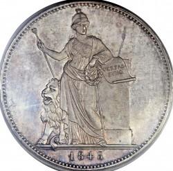 Монета > 2талера, 1848 - Бавария  (Новая Конституция) - reverse