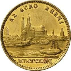 Monedă > 1ducat, 1842-1846 - Bavaria  - reverse