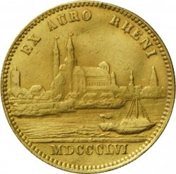 Monedă > 1ducat, 1850-1856 - Bavaria  - reverse