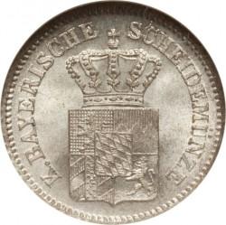 Munt > 1kreuzer, 1858-1864 - Beieren  - obverse