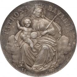 Munt > 1thaler, 1865-1871 - Bavaria  - reverse