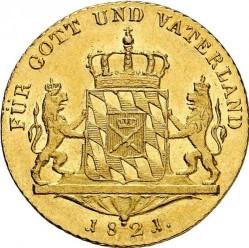 Munt > 1ducat, 1807-1822 - Bavaria  - reverse