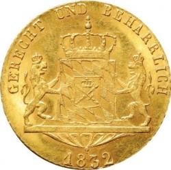Кованица > 1ducat, 1828-1835 - Bavaria  - reverse