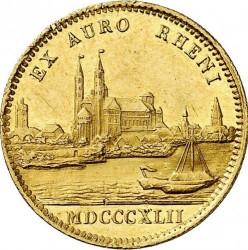 Munt > 1ducat, 1842-1846 - Bavaria  - reverse