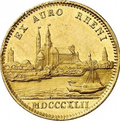 Munt > 1ducat, 1842-1846 - Beieren  - reverse