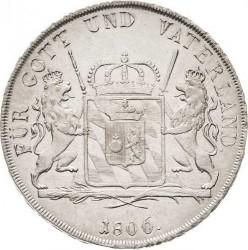 Кованица > 1thaler, 1806 - Bavaria  - reverse