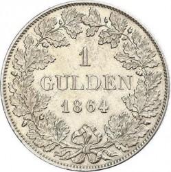 Monedă > 1gulden, 1864-1866 - Bavaria  - reverse