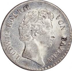 Munt > 6kreuzer, 1827-1829 - Bavaria  - obverse