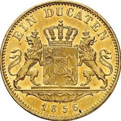Кованица > 1ducat, 1849-1856 - Bavaria  - reverse