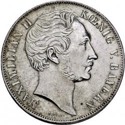 Monedă > 2guldeni, 1848-1856 - Bavaria  - obverse