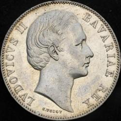 Munt > 1thaler, 1865-1871 - Beieren  - obverse