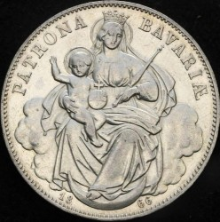 Munt > 1thaler, 1865-1871 - Beieren  - reverse